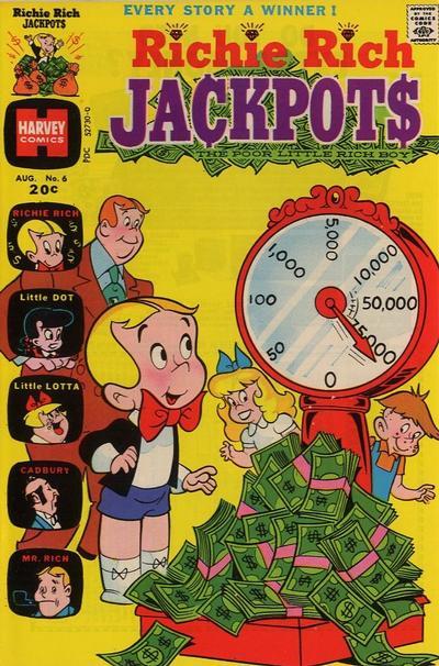 Richie Rich Jackpots A1 Comix Comic Book Database
