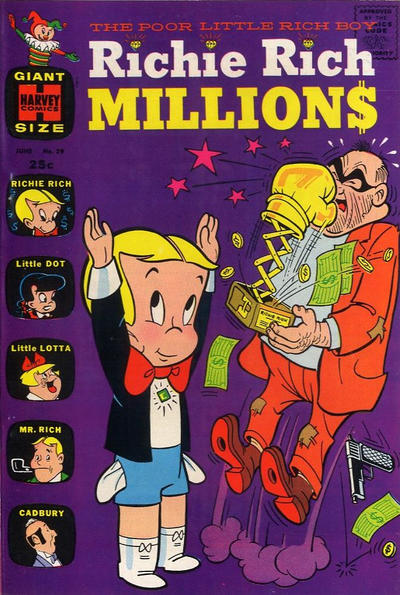 Richie Rich Millions A1 Comix Comic Book Database