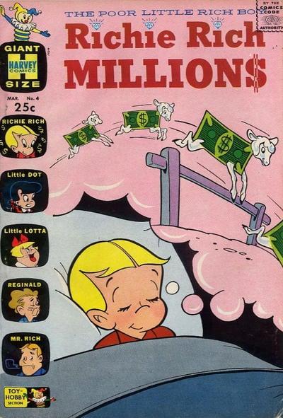 Richie Rich Millions A1 Comix Comic Book Database