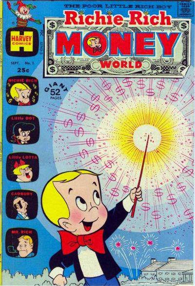 Richie Rich Money World Comic Book Back Issues by A1 Comix
