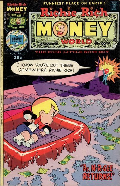 Richie Rich Money World A1 Comix Comic Book Database