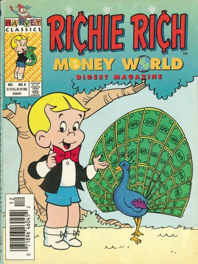 Richie Rich Money World Digest A1 Comix Comic Book Database