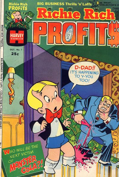 Richie Rich Profits Comic Book Back Issues by A1 Comix