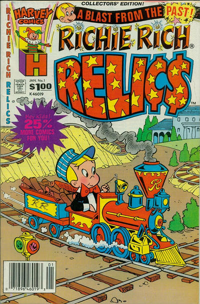 Richie Rich Relics Comic Book Back Issues by A1 Comix