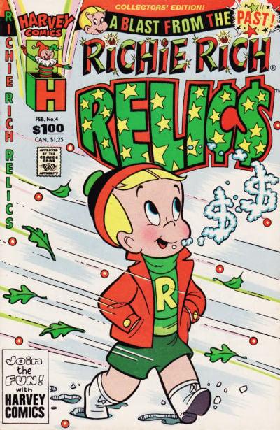 Richie Rich Relics A1 Comix Comic Book Database
