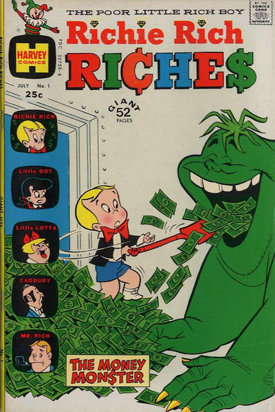 Richie Rich Riches Comic Book Back Issues by A1 Comix