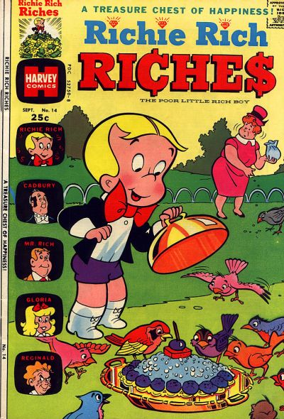 Richie Rich Riches A1 Comix Comic Book Database