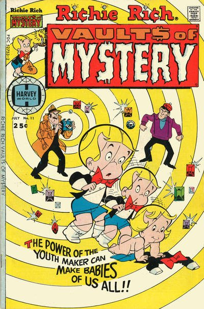 Richie Rich Vaults of Mystery A1 Comix Comic Book Database