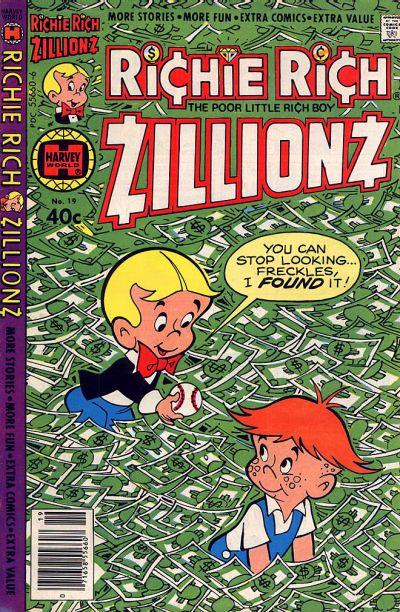 Richie Rich Zillionz A1 Comix Comic Book Database