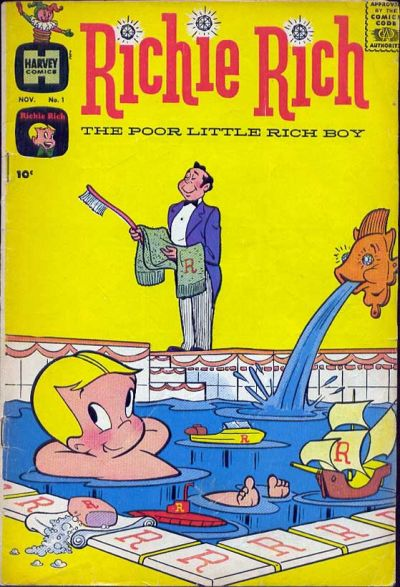 Richie Rich Comic Book Back Issues by A1 Comix