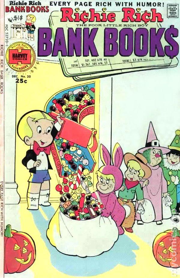 Richie Rich Bank Books A1 Comix Comic Book Database