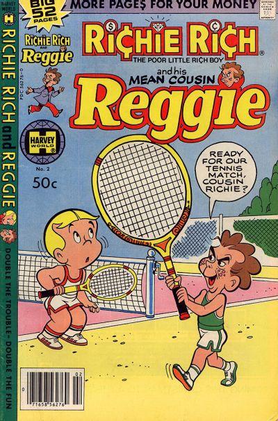 Richie Rich & His Mean Cousin Reggie A1 Comix Comic Book Database