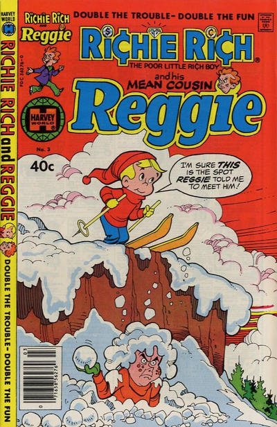 Richie Rich & His Mean Cousin Reggie A1 Comix Comic Book Database