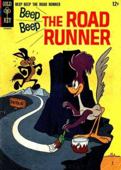 Beep Beep The Road Runner Comic Book Back Issues by A1 Comix