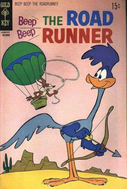 Beep Beep The Road Runner comic book back issue comicbook back copy