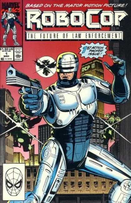 Robocop Comic Book Back Issues by A1 Comix