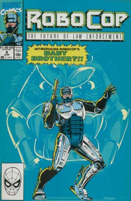 Robocop comic book back issue comicbook back copy