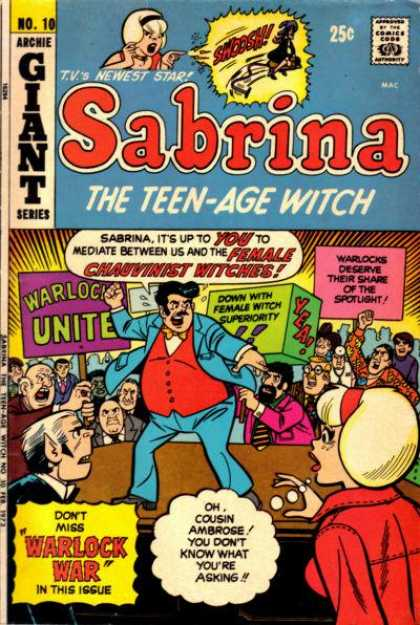 Sabrina, the Teen-Age Witch A1 Comix Comic Book Database