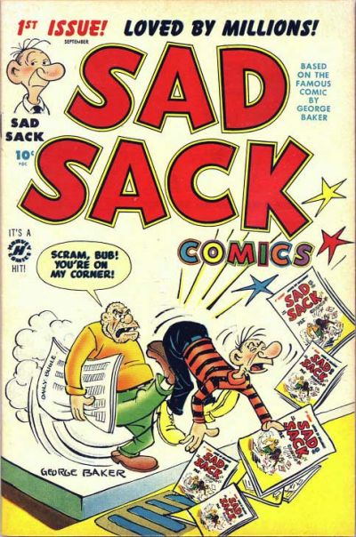 Sad Sack Comics Comic Book Back Issues by A1 Comix
