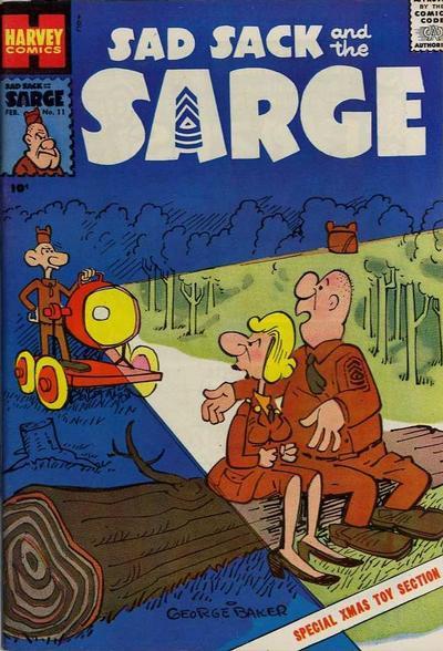 Sad Sack & The Sarge A1 Comix Comic Book Database