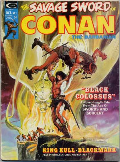 Savage Sword of Conan A1 Comix Comic Book Database