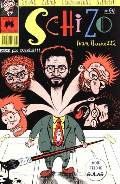 Schizo Comic Book Back Issues by A1 Comix