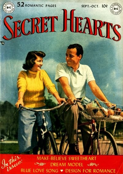 Secret Hearts Comic Book Back Issues by A1 Comix