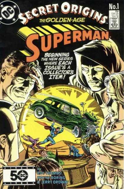 Secret Origins 1986 Comic Book Back Issues by A1 Comix