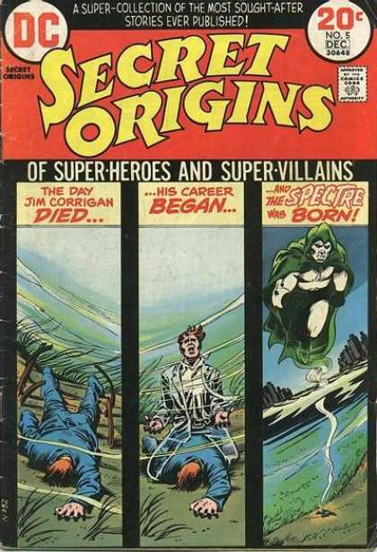 Secret Origins A1 Comix Comic Book Database