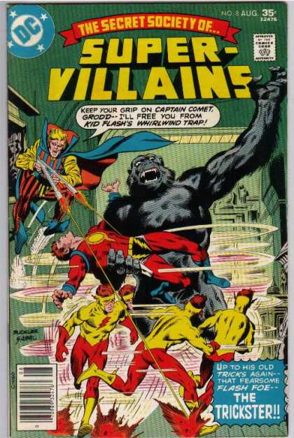 Secret Society of Super Villains A1 Comix Comic Book Database