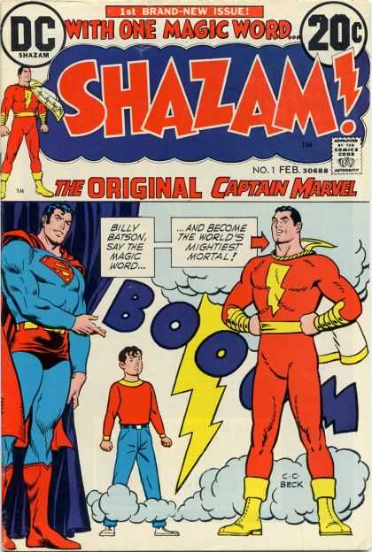 Shazam! Comic Book Back Issues by A1 Comix