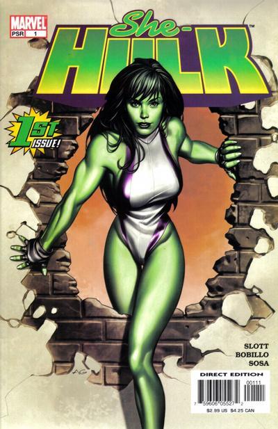 She-Hulk 2004 Comic Book Back Issues by A1 Comix
