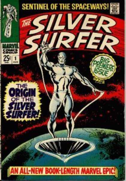 Silver Surfer Comic Book Back Issues by A1 Comix