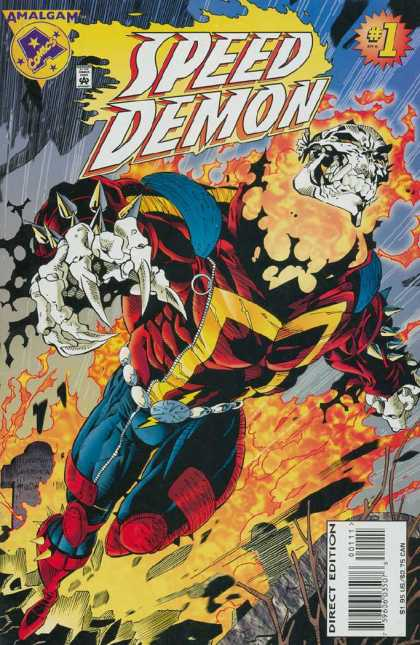 Speed Demon Comic Book Back Issues by A1 Comix
