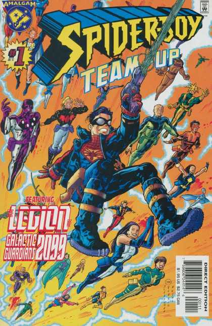 Spider-Boy Team-Up Comic Book Back Issues by A1 Comix