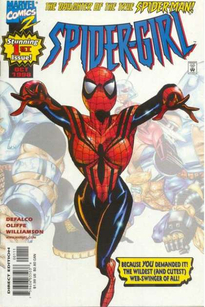 Spider-Girl Comic Book Back Issues by A1 Comix