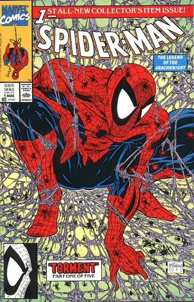 Spider-Man Comic Book Back Issues by A1 Comix