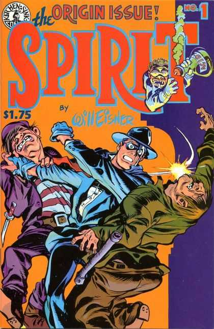 Spirit Comic Book Back Issues by A1 Comix