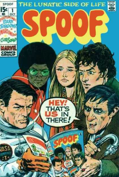 Spoof Comic Book Back Issues by A1 Comix