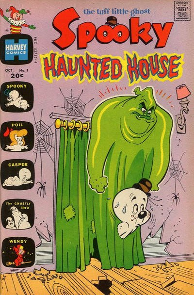Spooky Haunted House Comic Book Back Issues by A1 Comix