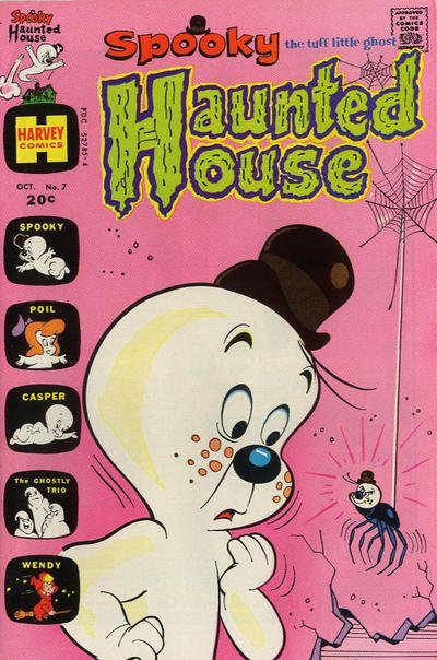 Spooky Haunted House A1 Comix Comic Book Database