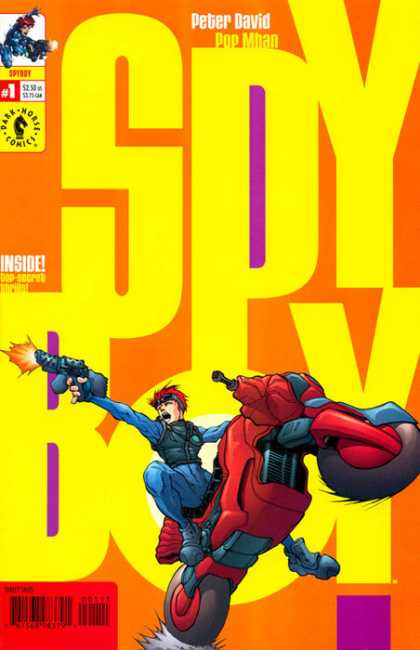SpyBoy Comic Book Back Issues by A1 Comix