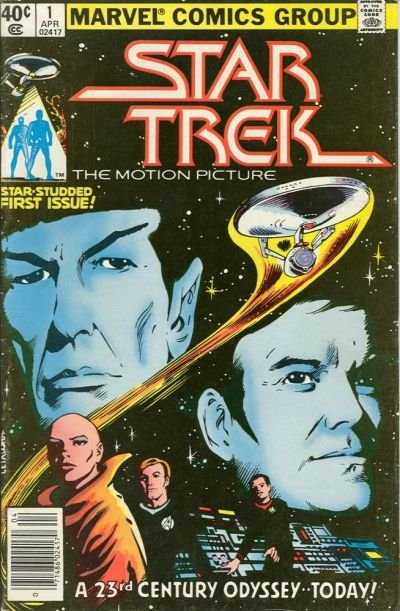 Star Trek Comic Book Back Issues by A1 Comix