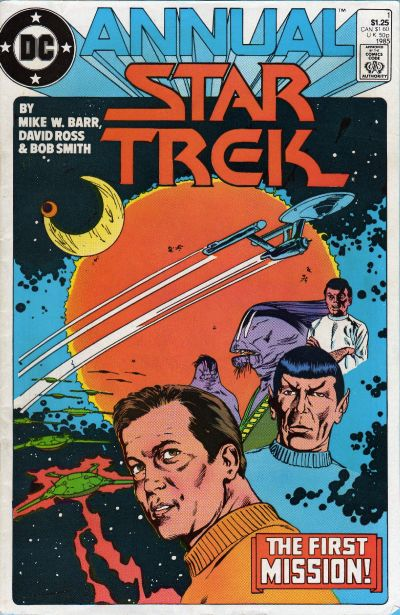 Star Trek Annual Comic Book Back Issues of Superheroes by A1Comix