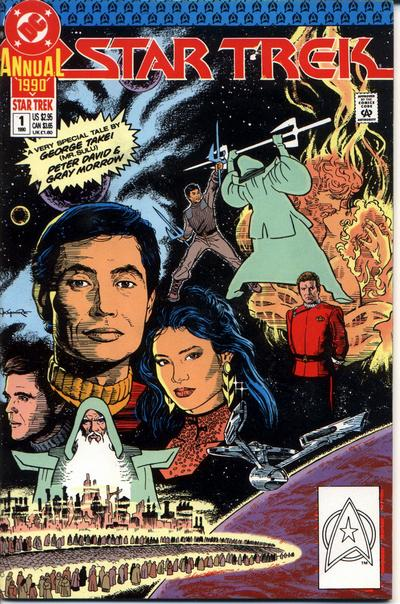 Star Trek Annual Comic Book Back Issues by A1 Comix
