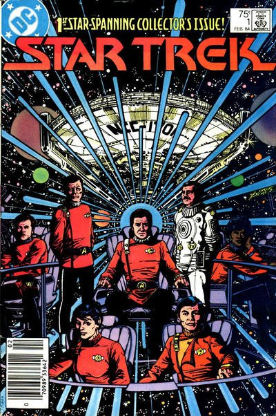 Star Trek Comic Book Back Issues of Superheroes by A1Comix