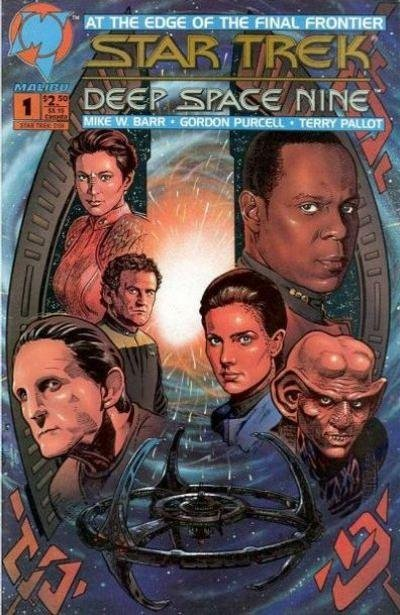 Star Trek Deep Space Nine Comic Book Back Issues by A1 Comix