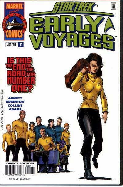Star Trek Early Voyages A1 Comix Comic Book Database
