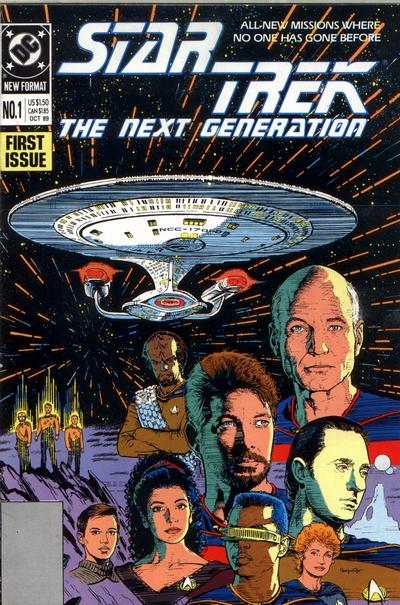 Star Trek The Next Generation Comic Book Back Issues of Superheroes by A1Comix