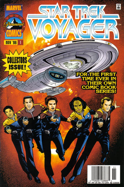 Star Trek Voyager Comic Book Back Issues of Superheroes by A1Comix